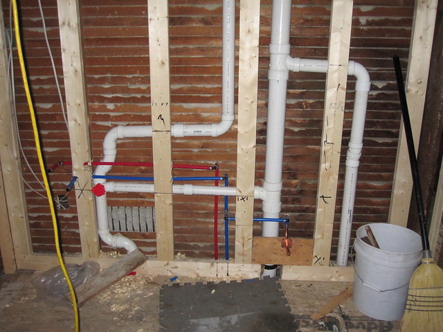 bathroom plumbing rough in flickr photo sharing