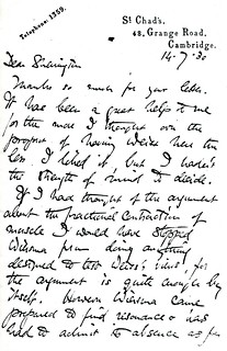 Adrian to Sherrington - 14 July 1930 (WCG 5.4)