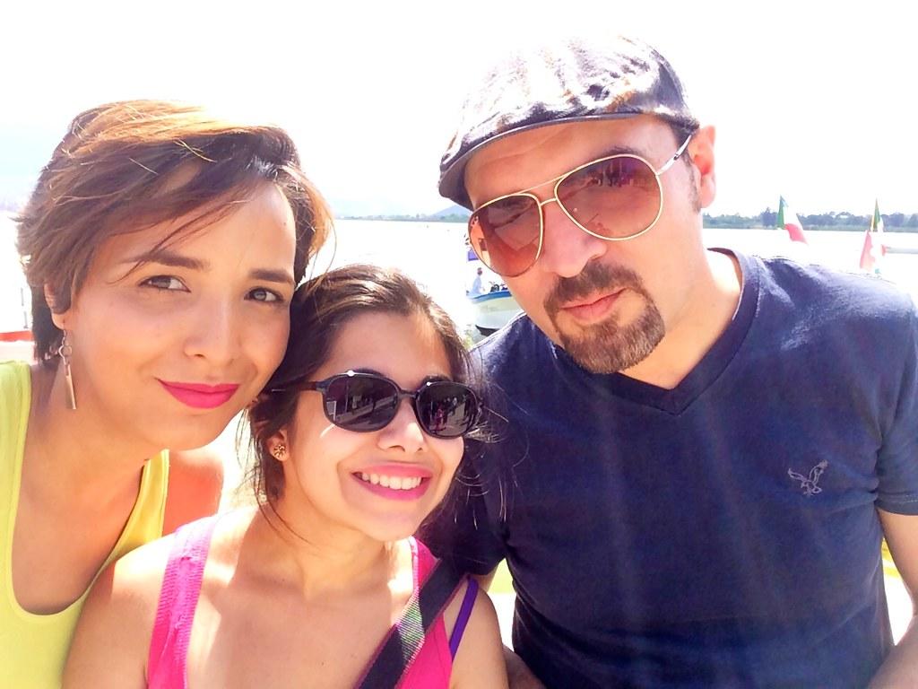 Con Johanna y Andrés :)