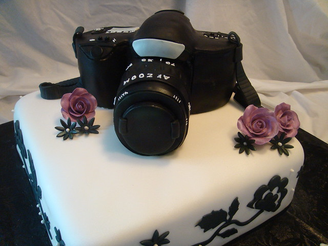 Camera Birthday Cake Flickr - Photo Sharing!
