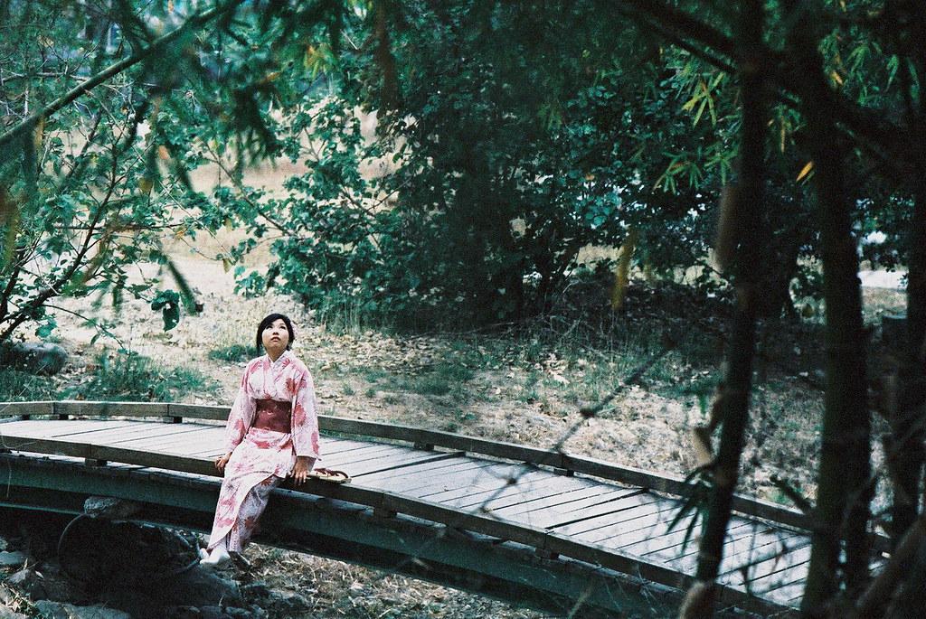 日本和服人像拍攝,85mm鏡