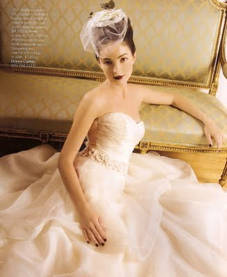 courtesyofinsideweddings dianna castner bridal headpieces vintage veil