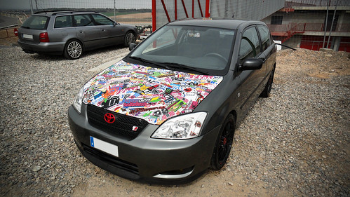 toyota corolla e12 stickers a photo on flickriver. Black Bedroom Furniture Sets. Home Design Ideas
