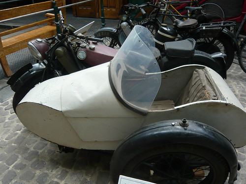 Jowett bike & side car