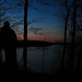 04-02-11: Salamonie Sunset