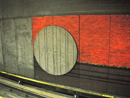 Montreal Metro by MariQuilts