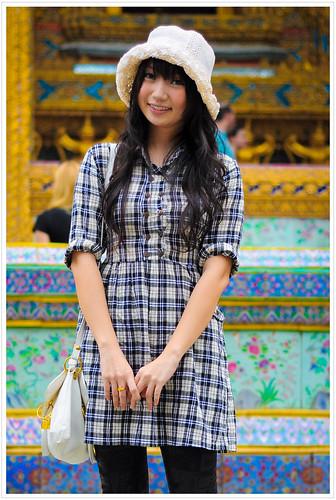 On Bangkok street...Grand Palace, Portrait #98