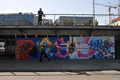 'Graffiti' Oosterdokskade Amsterdam