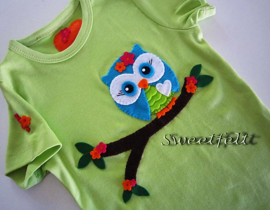 Украшения для детских футболок своими руками