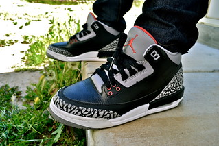 Air Jordan III - Black Cement