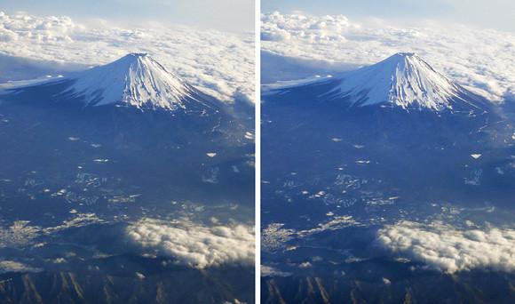 Mt. Fuji (parallel 3-D)