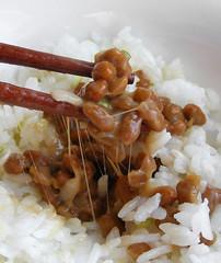 Natto, Japanse, gefermenteerde sojabonen