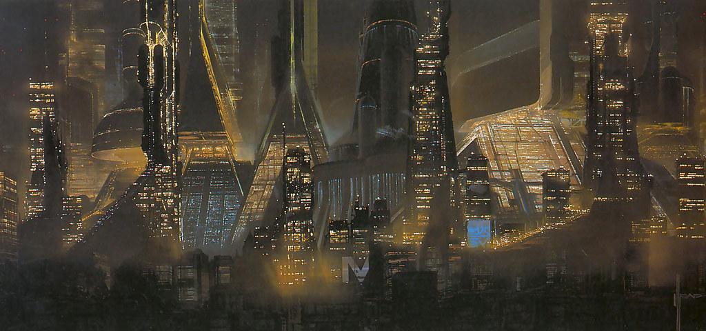 nuncalosabre.'Blade Runner' concept - Syd Mead