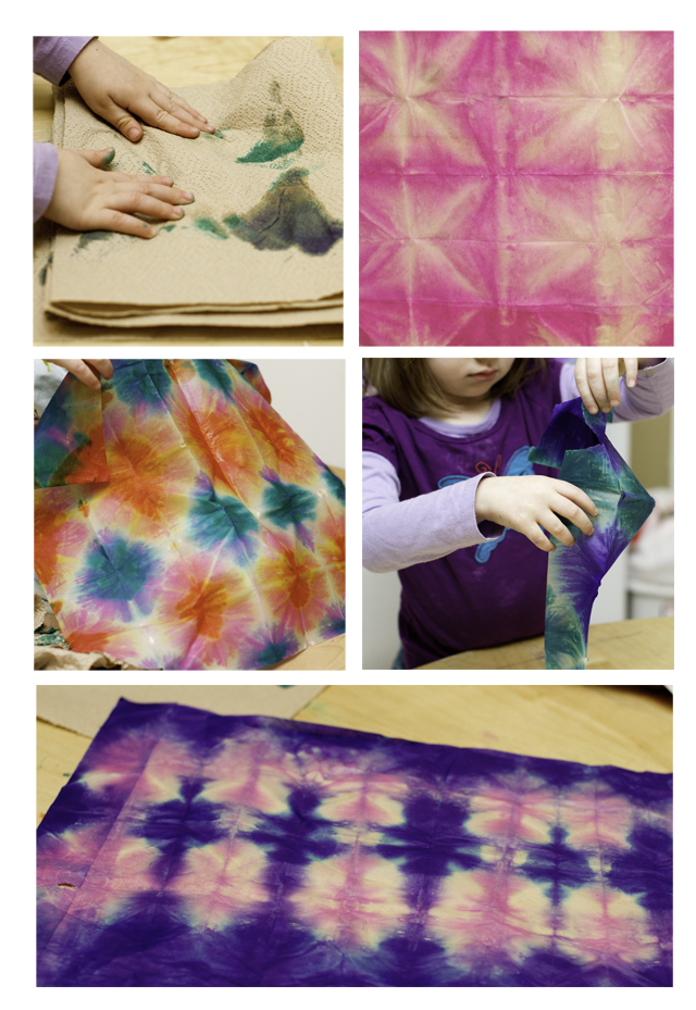 things to make tissue paper tie dye honest to nod. Black Bedroom Furniture Sets. Home Design Ideas