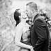 Nevada City Wedding ~ Ceremony Kiss by Ben Sheriff Photography