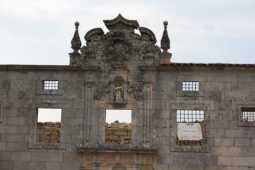 Mosteiro de Nossa Senhora da Assunção de Tabosa (pormenor)