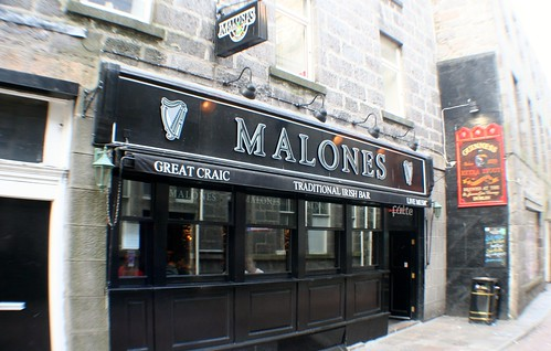 Irish Pub, Aberdeen, Scotland