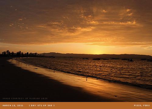 sunset peru pisco project365 march365