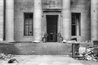 Dome, Creer and Shaffer, Reich Chancellery, Berlin, May 1945
