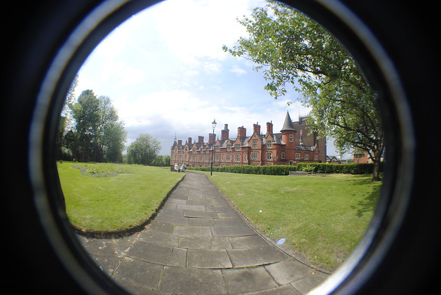 Fish Eye Lens by Flickr CC ZoeLouisePhotography