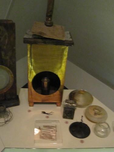 USS Cairo Museum safety lantern