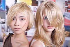 beautifull hair very fine highlights