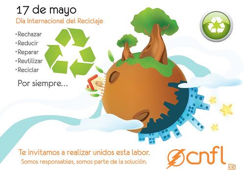 Tarjeta: Día Internacional del Reciclaje