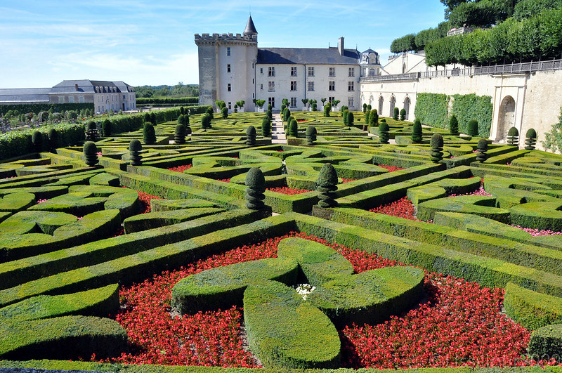 Jardines de castillo