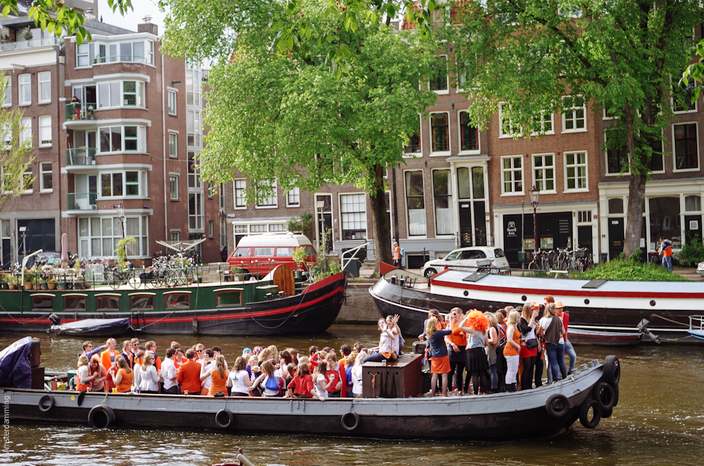 Amsterdam, King`s Day