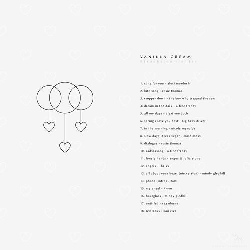 playlist cover - Vanilla Cream