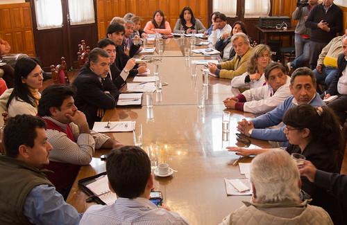 Reunión con Ministro Villa Nogues