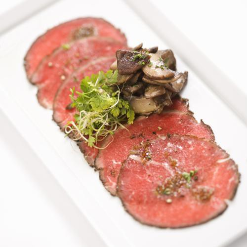 Beef carpaccio with mushrooms. | Flickr - Photo Sharing!
