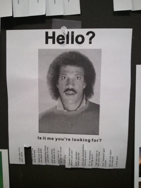 Hello Is It Me YouRe Looking For