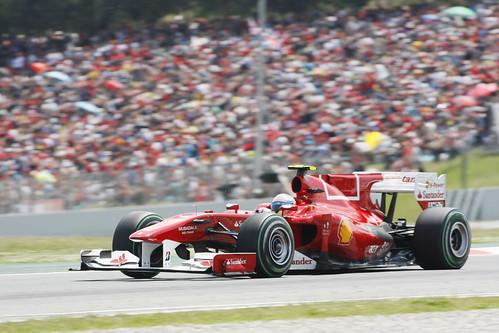Fernando Alonso - Circuit Catalunya