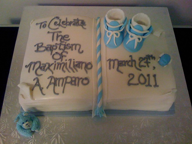 Christening Cake Book Design : Open Book baptism cake Explore CreatEve Cake Designs ...