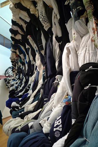 Edith Abeyta - Transversal Garment Manifestation No. 1 - detail 4 - Windward School