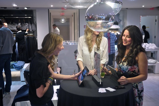 Vancouver Fashion Bloggers | Guess Party on Robson
