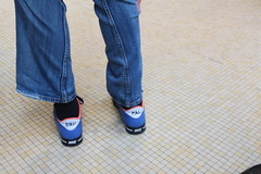 hand(0.0), pattern(0.0), arm(0.0), leather(0.0), human body(0.0), pocket(0.0), zipper(0.0), denim(1.0), jeans(1.0), textile(1.0), footwear(1.0), clothing(1.0), trousers(1.0), limb(1.0), leg(1.0), design(1.0), blue(1.0),