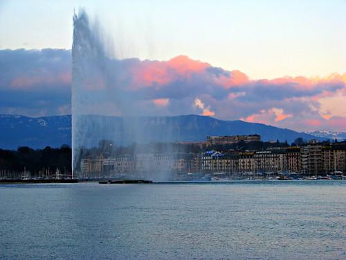 Jet d'Eau, Geneva - Switzerland