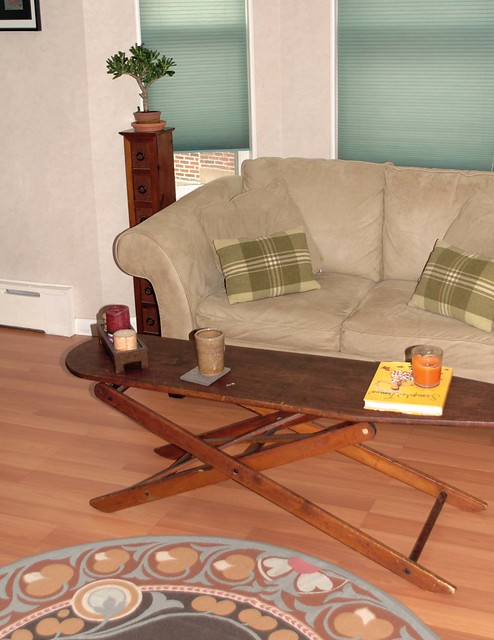 Janelle haskin spring cleaning special discount for Coffee tables you can sit on