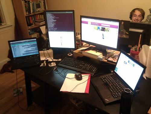 Excessive computer setup