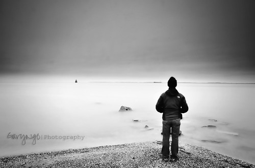 longexposure bw selfportrait seascape nikon maryland tamron f28 monochorme 1750mm d7000