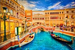 Gondola Ride on the Venetian Grand Canal, Las Vegas