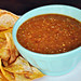 Chipotle Salsa with Pan-Roasted Tomatillos