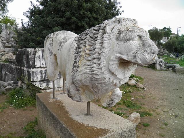 Marble lion, Apollo Temple, Didyma