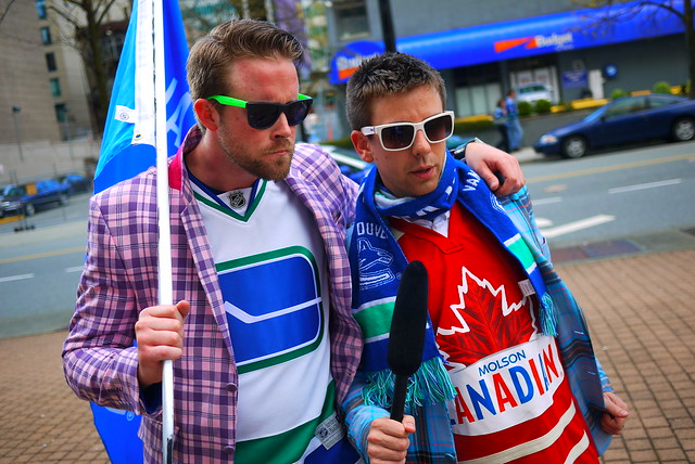 Vancouver Canucks | Molson Pub Party