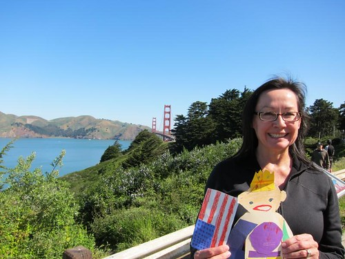 Flat Stanley, San Francisco, Golden Gate Bridge IMG_5595