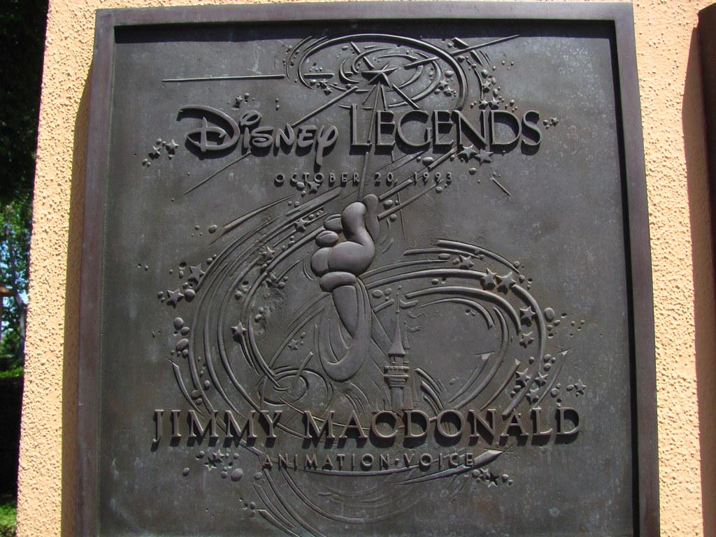 jimmy macdonald disney legend at the disney legends plaza flickr photo sharing. Black Bedroom Furniture Sets. Home Design Ideas