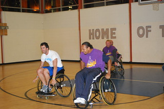 Australian Sports Visitors exchange with disable Americans