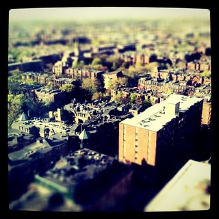 Boston, from on high